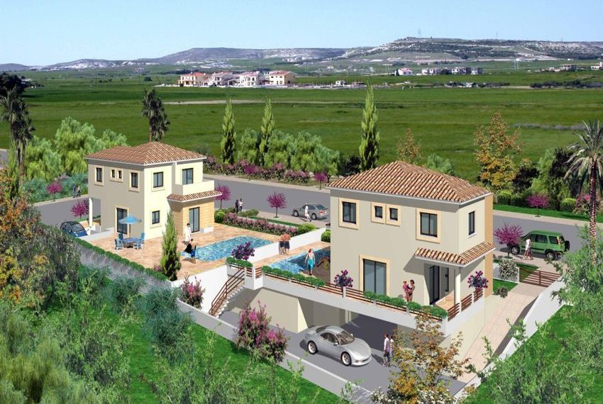 Aphrodites Gardens 3bed Houses